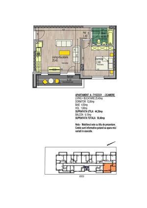 Apartament 2 camere,Mall La Strada 12 min Metrou Dimitrie Leonida - imagine 8