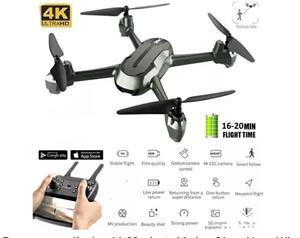 Drona camera 4k ,zbor 16-20 minute,Marime 31 cm Noua, Wi-Fi FPV,follow - imagine 1