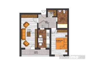 Apartament 2 camere Dimitrie Leonida - imagine 12