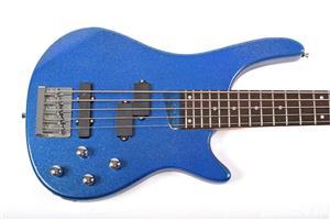 Set chitara electrica bass Santander BG1209-5 P/J & Hy-X-AMP BA-30  - imagine 2