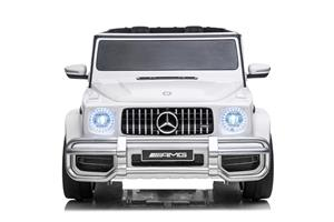 Kinderauto Mercedes G63 XXL 4x4 PREMIUM #Alb - imagine 4