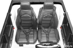 Kinderauto Mercedes G63 XXL 4x4 PREMIUM #Alb - imagine 3