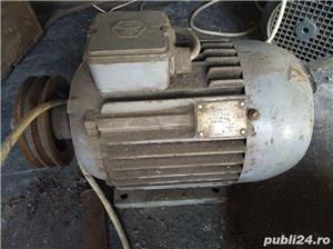 Motor de 3 kW 3000 W 1425 rotatii functional la curent trifazic sau monofazic. 380v 220v. Bucuresti - imagine 1
