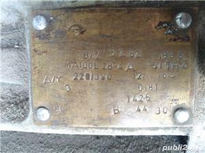 Motor de 3 kW 3000 W 1425 rotatii functional la curent trifazic sau monofazic. 380v 220v. Bucuresti - imagine 2
