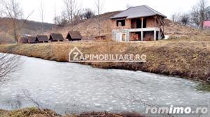 Casă 140 mp, 5800 mp teren, intravilan + Lac zona Vațman, Corunca - imagine 1