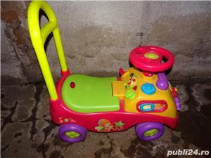 Mașinuță pentru copii cu muzică și jocuri - imagine 4