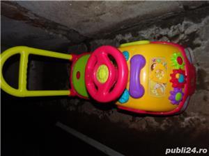Mașinuță pentru copii cu muzică și jocuri - imagine 2