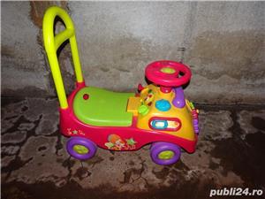 Mașinuță pentru copii cu muzică și jocuri - imagine 1