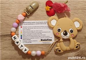Lantisoare/coliere babywearing alaptare si dentitie - imagine 2