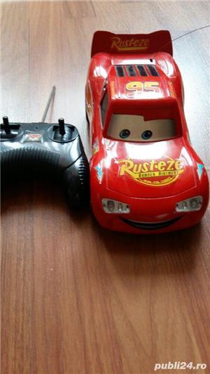 Jucarie masinuta Cars cu telecomanda - imagine 1