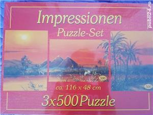 NOU Set 3 puzzle 500 piese - imagine 1