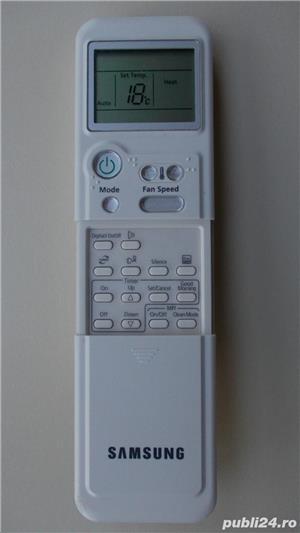 Telecomanda aer conditionat Samsung ARH-1346 originala,ca noua - imagine 1