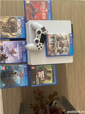 Play station 4 slim 500gb impecabil  - imagine 6