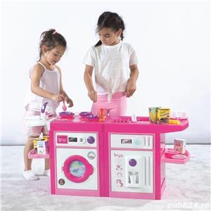 Set bucatarie 6 in 1 pentru copii - Unicorn 8236 Dim.59 x 107,5 x 39cm - imagine 3