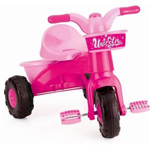 Prima mea tricicleta roz cu maner - Unicorn 64 x 52 x 50 cm - imagine 4