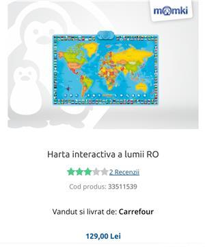 Hartă interactivă, bilingvă:română/engleză, Momki  - imagine 1