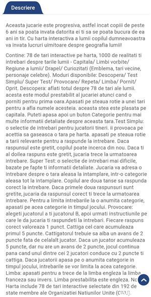 Hartă interactivă, bilingvă:română/engleză, Momki  - imagine 2
