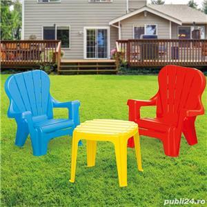 Set de masa cu scaune 5497 Masa: 30,5x36,5x36,5cm scaun: 46 x 49 x 40 92 lei - imagine 2