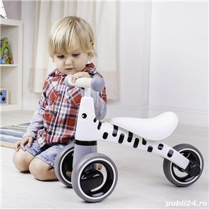 Tricicleta fara pedale - Girafa s-au Zebra Dimensiune: 24 x 51.5 x 18. 209 lei - imagine 3