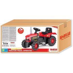 Tractor cu pedale Dolu 1554 inaltime - 52 cm, latime - 43 cm, lungime 239 lei - imagine 1