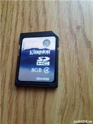 Card Kingston SD 8GB - imagine 1