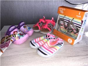 Vand sandale si pantofi vara - CARTERS,US 5, EU 20, lung 12,1 cm (pret 50 ron) - imagine 1