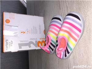 Vand sandale si pantofi vara - CARTERS,US 5, EU 20, lung 12,1 cm (pret 50 ron) - imagine 3