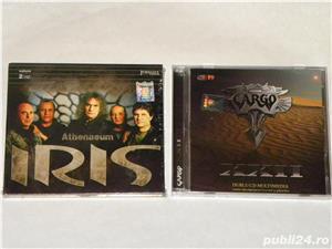 "CD uri rock: IRIS-,,Athenaeum"" (2cd), CARGO - ,,XXII"" (2cd)-(sigilate) - imagine 1"