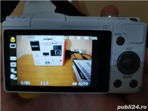 Aparat foto mirrorless Sony A5100 alb - imagine 2