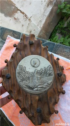 Tablou lemn/zinc vintage - imagine 1