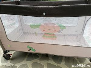 Kinderkraft - Patut pliabil Jolly Brown - imagine 3
