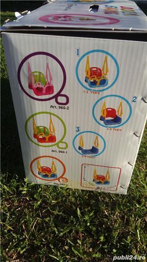 Leagan transformabil 3 in 1 cu centuri de siguranță DOREMI Swing Baby - imagine 5