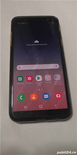 vând telefon Samsung Galaxy a6 2018 - imagine 1