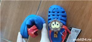 sandale bebe Ipanema, noi , marime 21, 13 cm - imagine 3