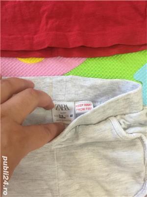 Ser tricou și pantaloni Zara - imagine 5