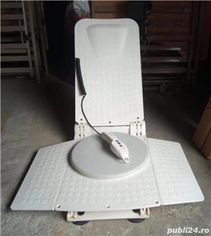Scaun lift baie pentru persoane varstnice sau cu dizabilitati - imagine 3