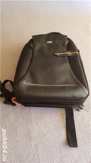 Rucsac business laptop, marca  Hama, negru - imagine 1