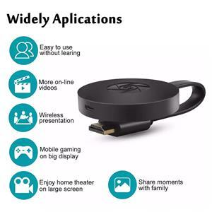 Mirascreen WiFi Wireless Display Dongle HDMI Adapter Chromcast TV Receiver 4K 1080P G2 - imagine 2