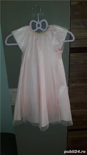 Rochiță cu sclipici pentru copii - imagine 2