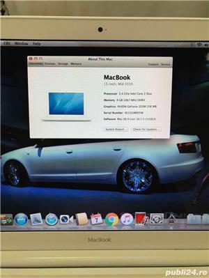 "Laptop Apple MacBook White 13"" Mid - imagine 4"