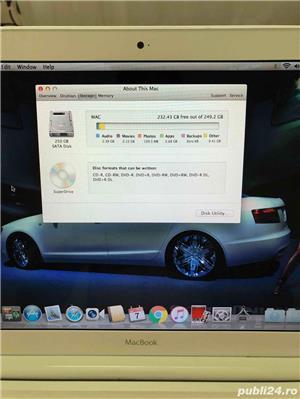 "Laptop Apple MacBook White 13"" Mid - imagine 2"