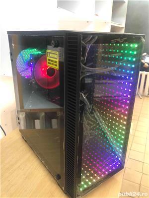 Calculator Gaming  i5-9600K , 16GB DDR4 , SSD 240GB + 1TB HDD , Placa Video  GTX 1070  in garantie - imagine 4