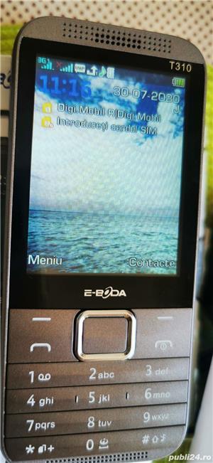 Telefon mobil 3G Eboda T310S Digi mobil, dual sim, taste mari - imagine 2