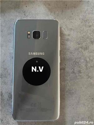 Samsung S8 silver 64 GB  - imagine 5