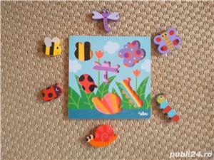 Vand joc de potrivire-puzzle V.ilac cu insecte - imagine 2