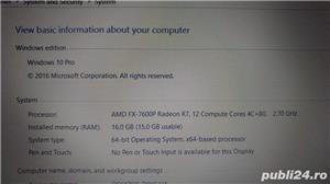 Laptop asus x550z 16 gb ram - imagine 3