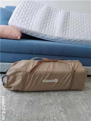 Patut pliabil Chipolino Merida + Saltea pentru copii Cocos Confort II - imagine 5
