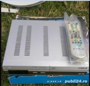 Antena Tv satelit (DIGI) si receiver 2aparate Tv. - imagine 3
