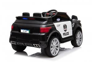 Masinuta electrica Police Officer Black - imagine 2