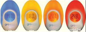 Grobag Egg - termometru camera bebe cu lampa de veghe - imagine 2